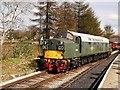 SD8022 : English Electric Class 40 Diesel Locomotive at Rawtenstall Station by David Dixon
