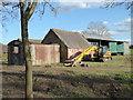 SP0054 : Farm buildings, Radford by Chris Allen