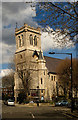 TQ2884 : Church of the Holy Trinity with St Barnabas, Kentish Town by Julian Osley