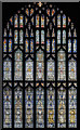 SK7053 : West window, Southwell Minster by Julian P Guffogg
