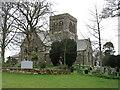 NY1133 : St Bridget's church, Bridekirk by David Purchase