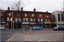 TA0827 : Shops on Hessle Road, Hull by Ian S