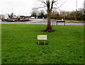 ST7182 : Rotary Club of Yate and District notice on a green, Yate by Jaggery