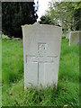 TL7066 : The headstone of Gunner John Evlyn Cockerton 31 October 1918 by Adrian S Pye