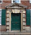 SE6052 : Detail of Oliver Sheldon House, Aldwark, York by Stephen Richards