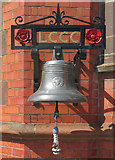 SJ8195 : Old Trafford: the bell by John Sutton