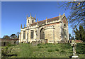 SK9070 : St Peter's church, Doddington by Julian P Guffogg