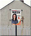 J3375 : Assembly election poster, Antrim Road, Belfast - April 2016(2) by Albert Bridge