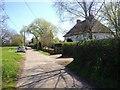 TQ7148 : Bishop's Lane, Hunton by Chris Whippet