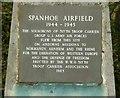 SP9396 : War memorial, Spanhoe Airfield by Alan Murray-Rust