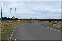 NS4947 : Approaching the A77 by Billy McCrorie