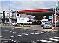 ST1478 : Texaco, Station Road, Llandaff North, Cardiff by Jaggery