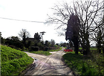 TM0956 : Low Road, Creeting St.Mary by Adrian Cable