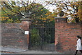TL4558 : Gates to Jesus College by N Chadwick