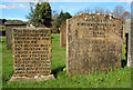 NS3804 : The Grave of Covenanter Thomas McHaffie by Mary and Angus Hogg