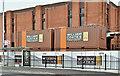 J3873 : Site offices, Ballyhackamore, Belfast (April 2016) by Albert Bridge