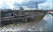 J3674 : Removal of former Parkgate Garages by John Thompson