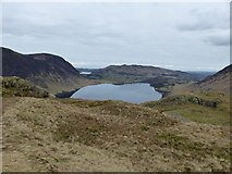 NY1618 : View from Rannerdale Knotts towards Crummock Water by Anthony Foster