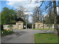 SP7379 : Lodges to Kelmarsh Hall 2-Northants by Martin Richard Phelan