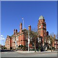 SJ9494 : Hyde Town Hall by Gerald England