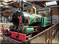 SJ8397 : Isle of Man Steam Railways Locomotive No 3, Pender by David Dixon