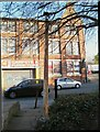 SE2733 : Gas lamp by Canal Road, Leeds by Stephen Craven