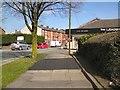 SJ9594 : New tarmac on Dowson Road by Gerald England