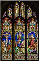 SK8069 : East window, St Wilfred's church, Low Marnham by Julian P Guffogg