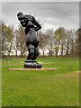 SE2812 : At This Time (KAWS 2013) at the Yorkshire Sculpture Park by David Dixon