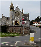 SX9473 : South side of Our Lady and St Patrick's Roman Catholic Church, Teignmouth by Jaggery