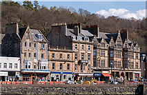 NM8530 : Listed buildings - 28-8 George Street, Oban - April 2016 by The Carlisle Kid