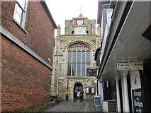 TQ9220 : Lion Street, Rye by Peter Wood