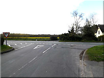 TM1551 : Ashbocking Road, Henley by Geographer