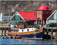 NM8530 : Glen Massan at North Pier, Oban - April 2016 by The Carlisle Kid