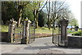NS4958 : Entrance to Neilston Cemetery by Billy McCrorie