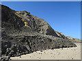 TG2739 : Eroding cliffs at Trimingham by Hugh Venables