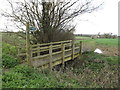 TM1453 : Footpath to Rectory Road by Adrian Cable