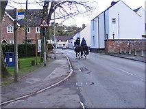 SO8483 : Riding Through by Gordon Griffiths