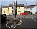 SS5698 : Junction of Station Road and Castle Street, Loughor by Jaggery