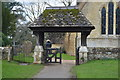 TQ1145 : Lych Gate, Church of St James by N Chadwick