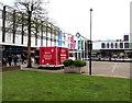 SO8318 : Virgin Media trailer in Gloucester by Jaggery