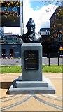 TQ3078 : Basaveshwara bust on Albert Embankment by PAUL FARMER