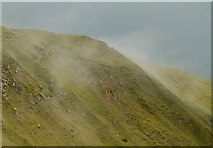 SO5977 : Steaming hillside, Titterstone Clee by Alan Murray-Rust
