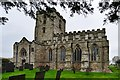 SK4023 : Breedon on the Hill: St. Mary and St. Hardulph Church by Michael Garlick