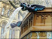 SJ8398 : Queen Victoria Jubilee Fountain (Gargoyle Waterspouts) by David Dixon