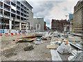 SJ8398 : Metrolink Construction, St Peter's Square, April 2016 by David Dixon