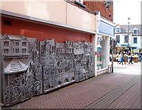 SK7519 : King's Street, Melton Mowbray, Leics. by David Hallam-Jones