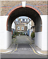TQ2684 : Baynes Mews, Belsize Park by Julian Osley
