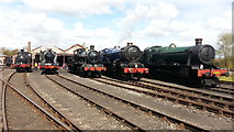 SU5290 : Gala Day at Didcot Railway Centre by Peter Whatley