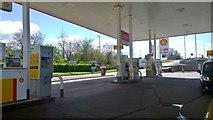 ST0207 : Shell, Cullompton by Steven Haslington